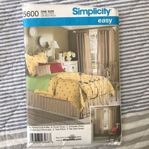 Simplicity sewing pattern - new #5600
